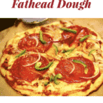 Pinterest image for Keto Fathead Dough
