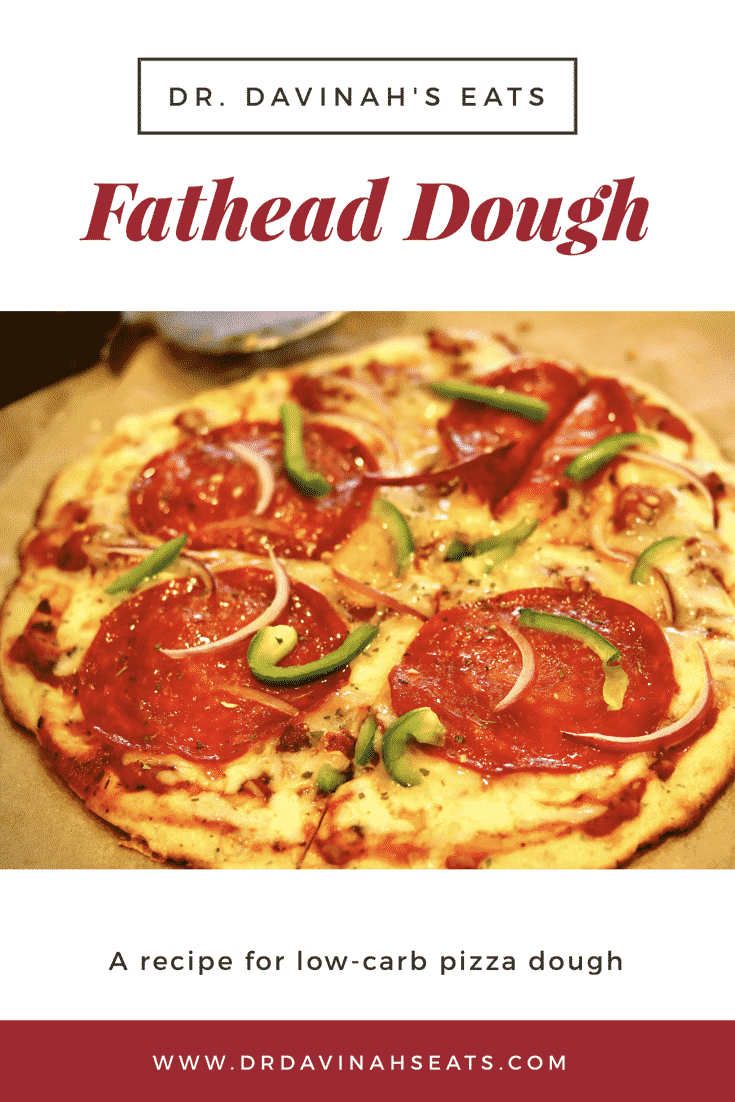 Pinterest image for fathead dough