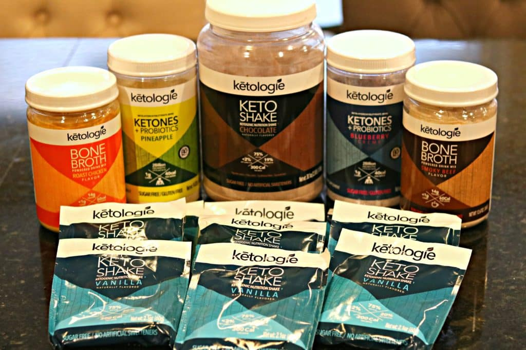 A collection of Ketologie Products