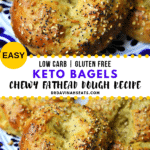 Pinterest Image for fathead dough bagels