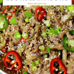 Pinterest image for Egg roll in a bowl