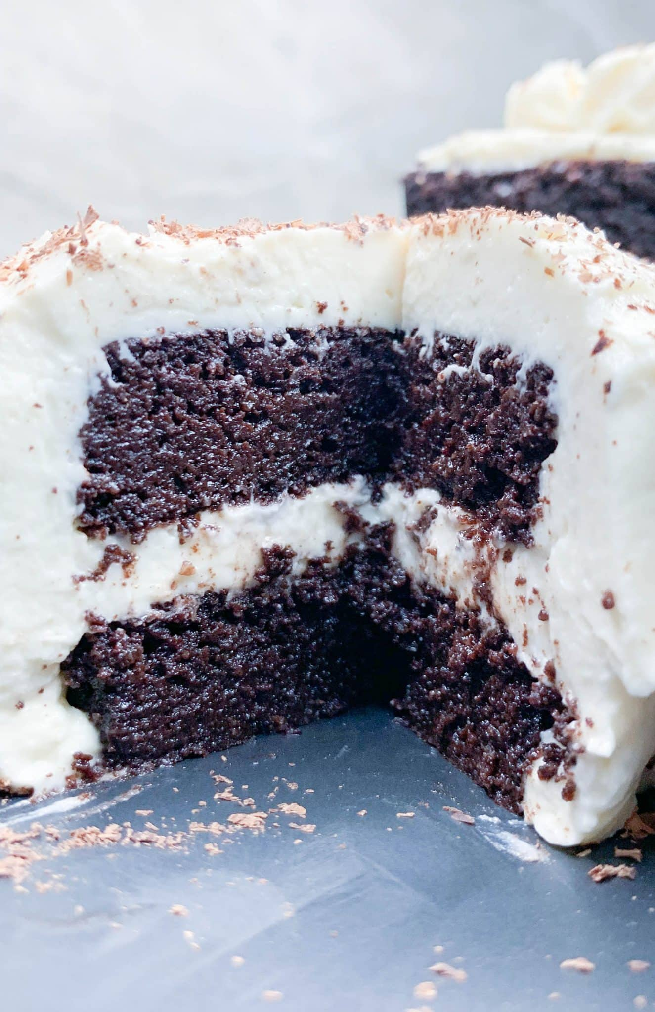 Moist keto chocolate cake