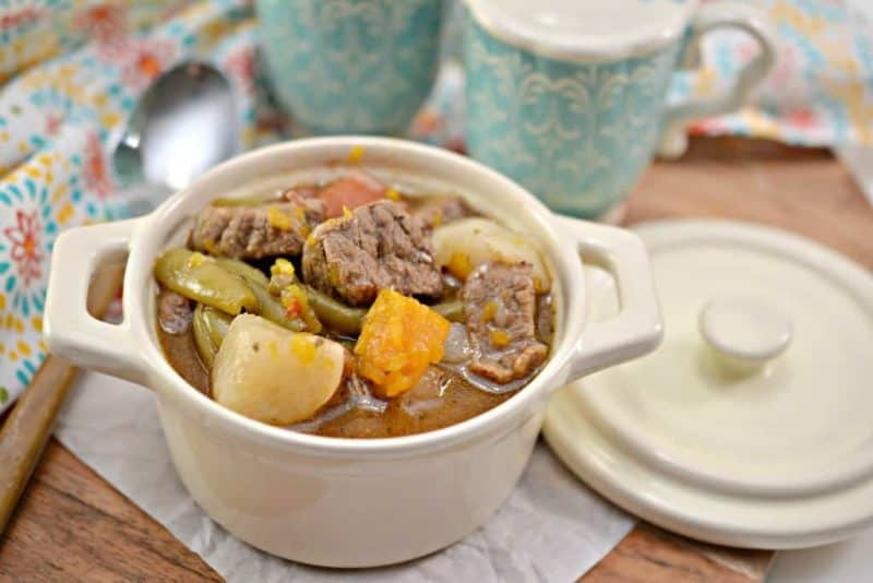 Keto Beef Stew in a bowl