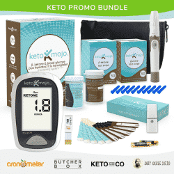 An image for a Keto Promo Bundle for Keto Mojo