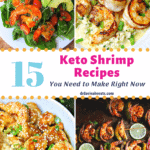 keto shrimp recipes pinterest image