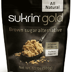 An image of a pouch of Sukrin Gold Brown sugar alternative