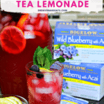 Keto Iced Tea Lemonade