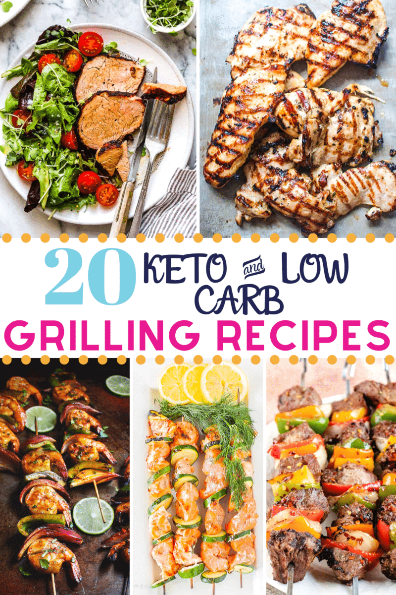 Pinterest image for Keto Grilling Recipes