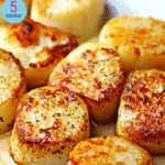 Pinterest image for Seared Scallops