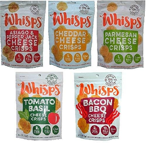 Whisps Cheese Crisps 5 bags