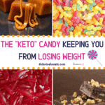 Pinterest image for Keto Candy