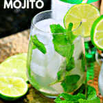 Pinterest image for Vodka Mojito