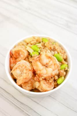 Shrimp Cauliflower Rice