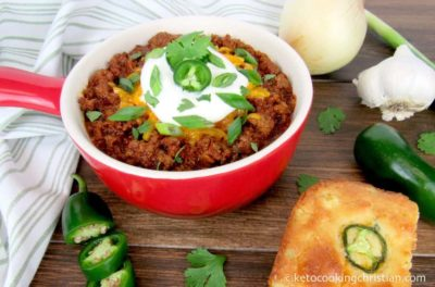 Chili Ground Beef Keto Recipe