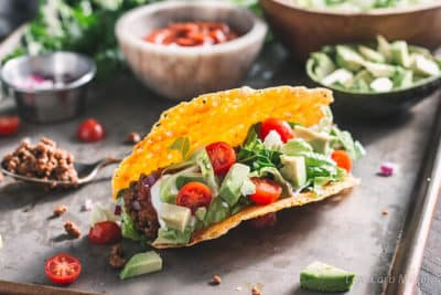 Low Carb Ground Beef Taco