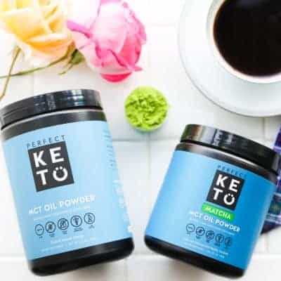 Perfect Keto Review MCT Oil Powder