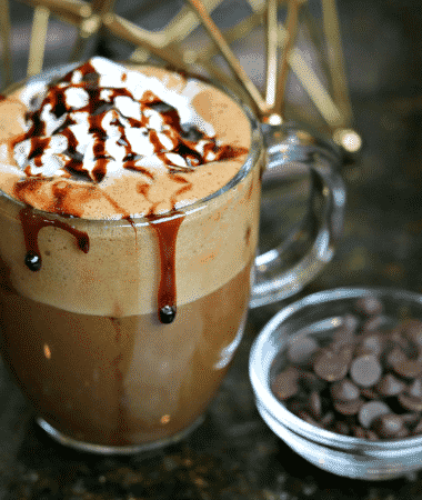 Easy Keto Hot Chocolate Recipe in a cup