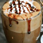 Pinterest image for easy keto-friendly hot chocolate