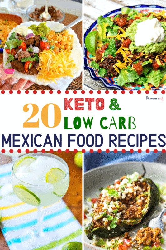 Pinterest image for Keto Mexican Food Recipes