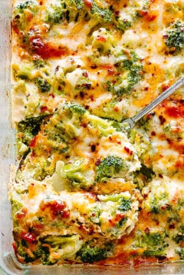 Broccoli Cheese In Casserole