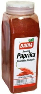 A jar of Badia Smoked Paprika