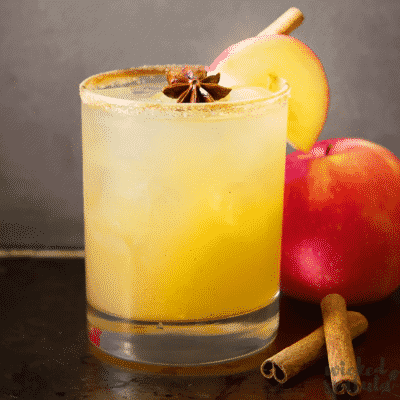 Fall Apple Cider Margarita