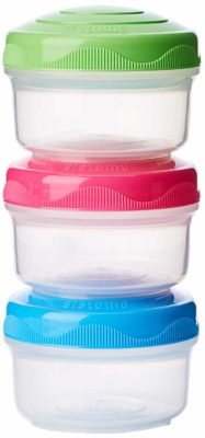 Salad dressing containers