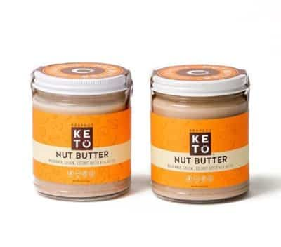2 jars of Perfect brand Keto Nut Butter