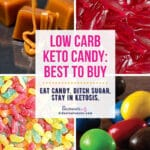 keto-friendly candy options to buy Pinterest Image