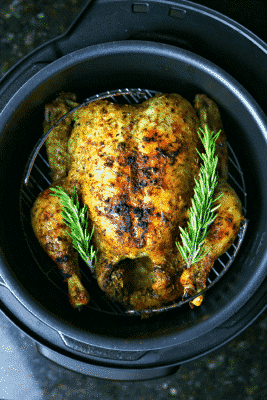 Pressure Cooker Whole Chicken in the Crock-Pot Express