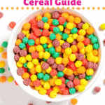 Low-carb Cereal Pinterest image