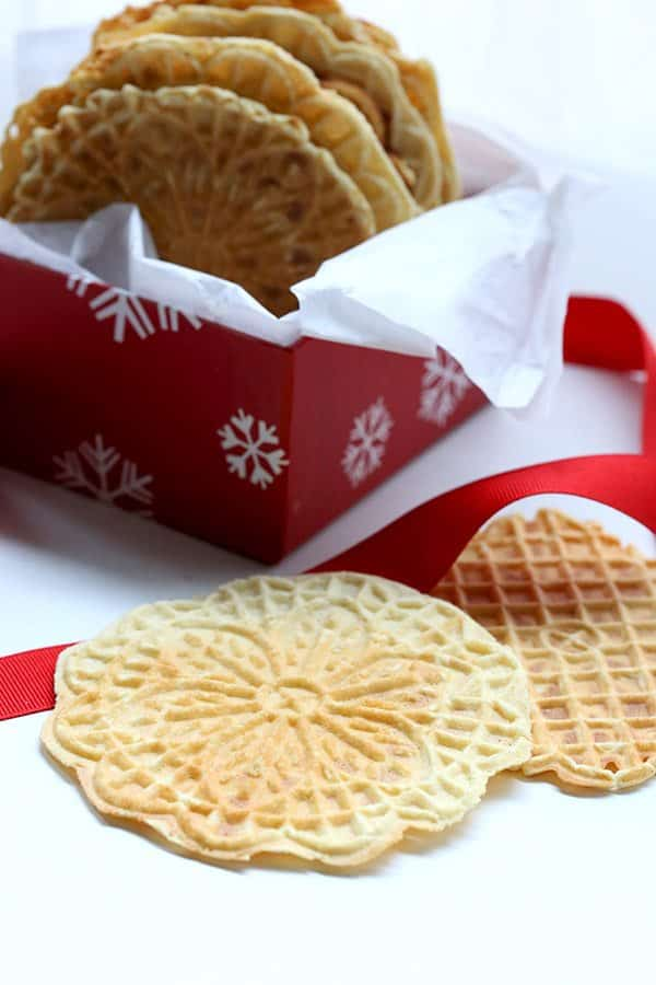 Low-carb Pizzelle Recipe
