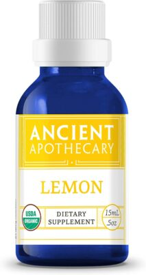 One bottle of Ancient Apothecary Lemon Essential Oil
