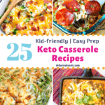 pinterest image for Keto Casserole recipes