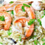 pinterest image for keto risotto