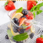 pinterest image for water flavoring options