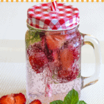 pinterest image for keto water flavoring options