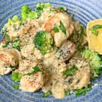 shrimp alfredo cropped image