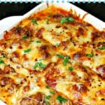 Pinterest Image for cottage cheese lasagna