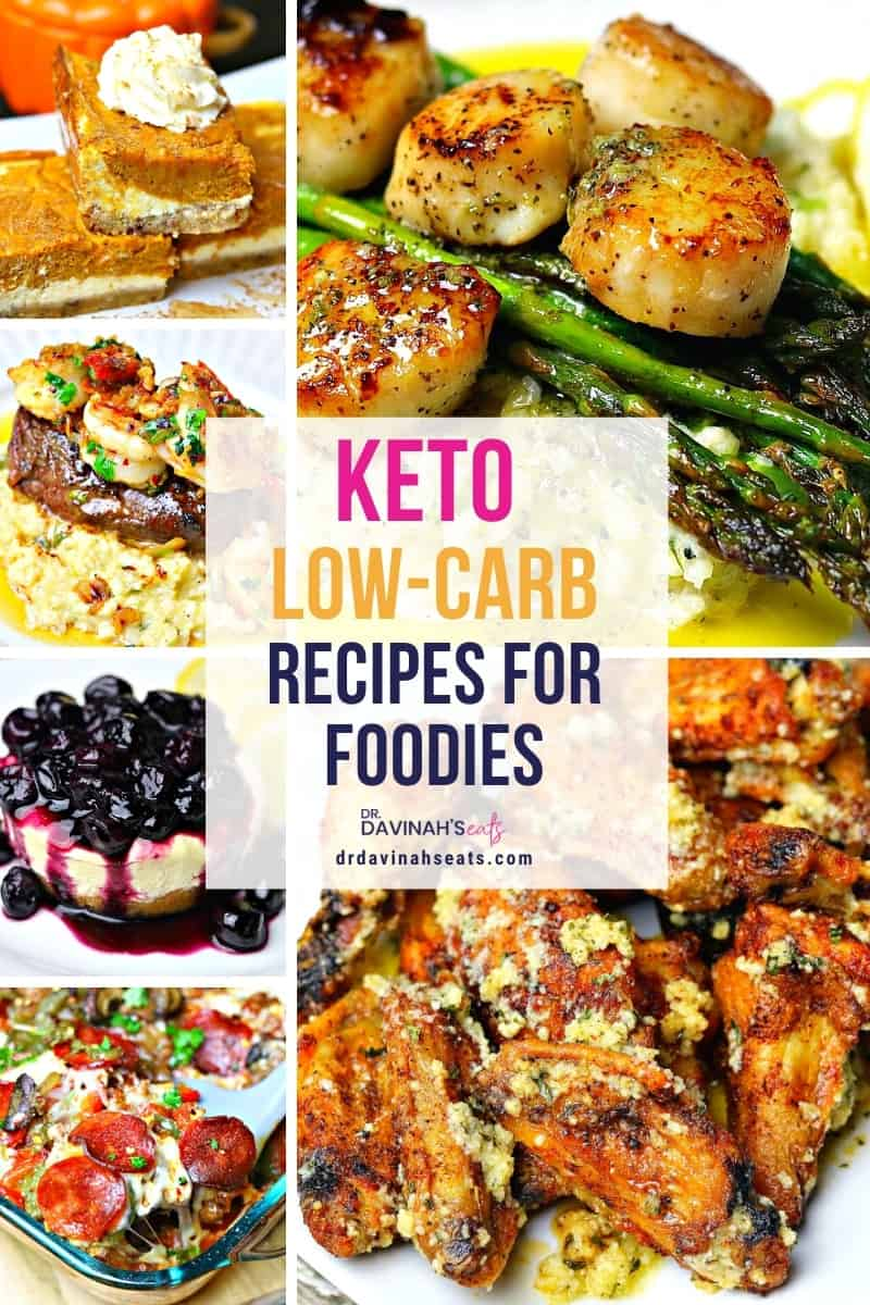 keto recipes pinterest image