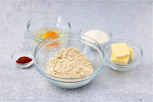 keto cinnamon cookie crust ingredients